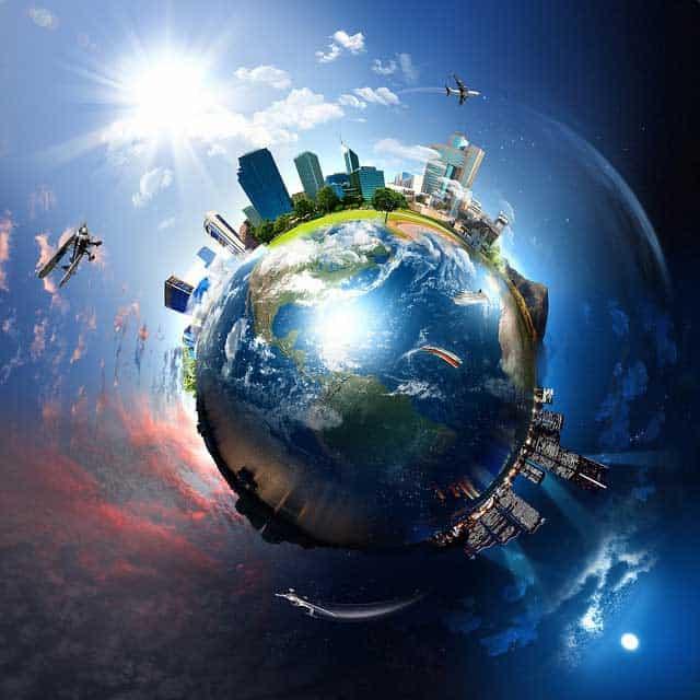 El mundo, día y noche y el potencial de hacer una maestría