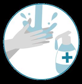 Coronavirus - métodos de prevención como lavarse las manos