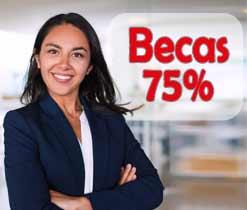 Estudia una Maestría Virtual y Te pagamos el 75%