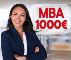 MBA a 1000€ precio total