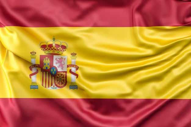 La bandera de España, donde se puede estudiar una Maestría Online de muy alta calidad