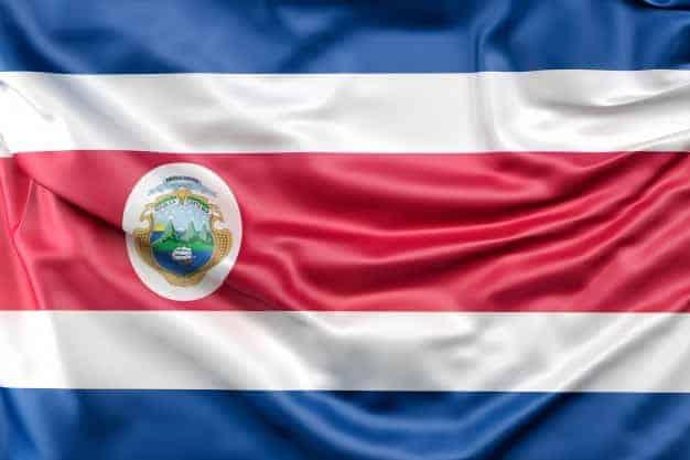 En la imagen se puede ver la bandera de Costa Rica, ya que, el artículo va sobre las maestrías virtuales en Costa Rica